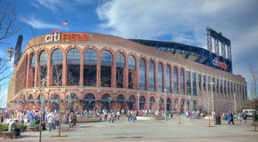 A view of the recently opened CitiField Royalty Free Stock Images