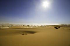 View of red dunes in the Namib Desert, Sossusvlei, Namibia Stock Photo