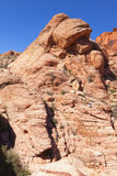 View of Red Rock Canyon in the Mojave Desert. Stock Photos