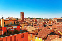 View of red roofs in Florence. Stock Photography