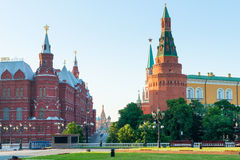 View of Red Square in central Moscow royalty free stock images