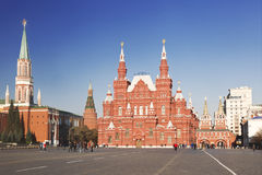 View of the red square, Moscow, Russia Royalty Free Stock Image