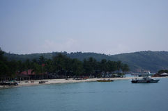 View in Redang island of Malaysia Royalty Free Stock Photography