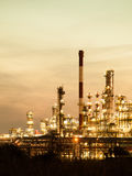 View of the refinery petrochemical plant in Gdansk, Poland Royalty Free Stock Image