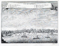 View of Refisco and River Rufisco, Ivory Coast,Africa. 1753 Stock Photography