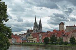 View of Regensburg. Bavaria, Germany Stock Photography