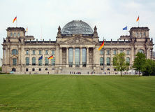 View of the Reichstag in Berlin Stock Photography