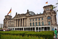 View of the Reichstag in Berlin Stock Images