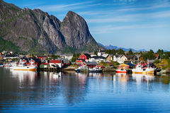 View of  Reine Royalty Free Stock Photos