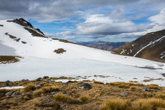 View of the Remarkables mountain Stock Images