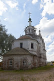 View of the renovated church of Leonti of Rostov in Veliky Ustyug Stock Image