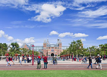 View on renovated State Museum, Amsterdam, Netherlands Stock Images