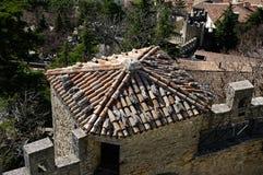 View of republic San Marino. Royalty Free Stock Photo