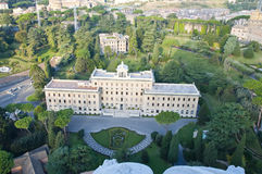 View of the residence of the Vatican, Rome Stock Photos