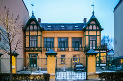 View on residential building in Baden bei Wien, Austria Stock Photography