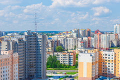 View of the residential district Royalty Free Stock Images