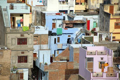 View of residential district, Udaipur Royalty Free Stock Photo