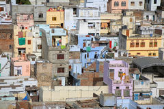 View of residential district, Udaipur Stock Photo