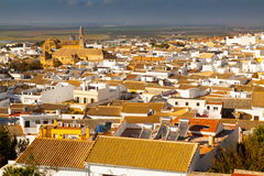 View of residential districts of andalucian town Stock Images