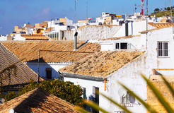 View of residential districts of andalucian town Royalty Free Stock Photography