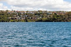 View of residential homes and apartments. Sydney, New South Wales, Australia, September 13, 2013: View of residential homes and apartments around the southern stock photography