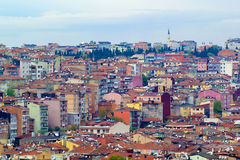 View of residential Istanbul Stock Image