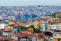 View of residential Istanbul Stock Images
