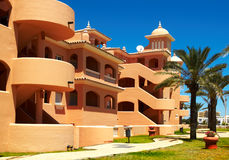 View of the resort. With blue sky Royalty Free Stock Images