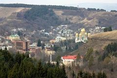 Kislovodsk. View of the resort city of Kislovodsk, Northern Caucasus,Russia royalty free stock images