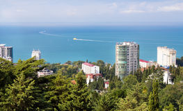 View of the resort of Sochi part of the park Stock Photo