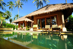View of a resort in Thailand Stock Photos