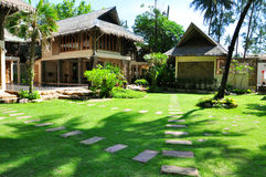 View of a resort in Thailand Royalty Free Stock Images
