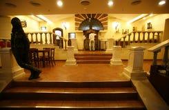 View of restaurant interior, delhi Stock Image