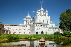 The view of The Resurection Church in Rostov Kremlin Royalty Free Stock Images