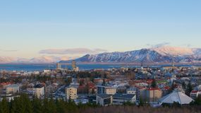 View of Reykjavik in Iceland Royalty Free Stock Photo