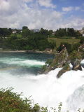 View of the Rhine Falls, Switzerland Stock Image