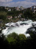 View of the Rhine Falls, Switzerland Stock Photography