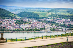 View of the Rhine River Royalty Free Stock Images