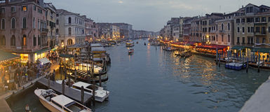 View from Rialto Bridge Royalty Free Stock Photos