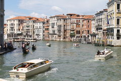 View from Rialto bridge, Venice Royalty Free Stock Photo