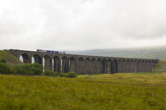 View of Ribblehead Railway Viaduct. Yorkshire, England, UK. Stock Images