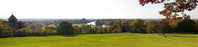 View from Richmond Hill Royalty Free Stock Images