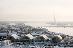 View of Riga Royalty Free Stock Photography