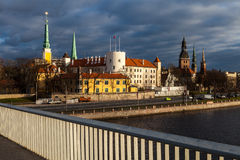 View of Riga castle Stock Photography