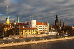 View of Riga castle Stock Photo