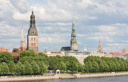 View on Riga, Latvia Stock Photos