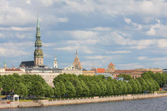 View on Riga, Latvia Stock Photo