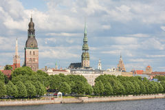 View on Riga, Latvia Royalty Free Stock Images