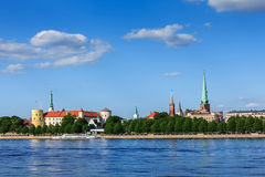 View of Riga, Latvia Stock Photo