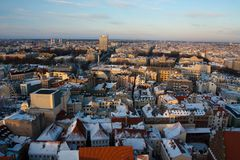 View on Riga town Royalty Free Stock Image